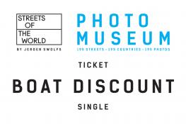 Combi boat/museum single DISCOUNT