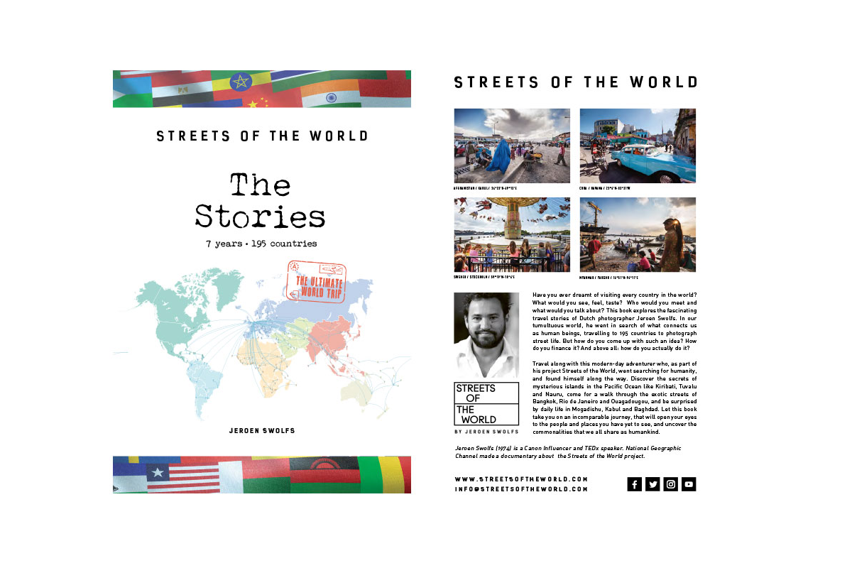 Streets of the World the Stories e-book (in het Engels)